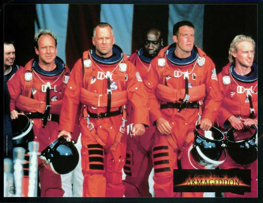 'Armageddon' (1998)Steve Buscemi, Will Patton, Bruce Willis, Michael Clarke Duncan, Ben Affleck, and Owen Wilson play oil drillers sent into outer space to blow apart a meteor headed to earth. It was big, dumb, loud ... and we still love watching every minute of it when it comes on basic cable. Photo: Archive Photos, Multiple / 2012 Getty Images