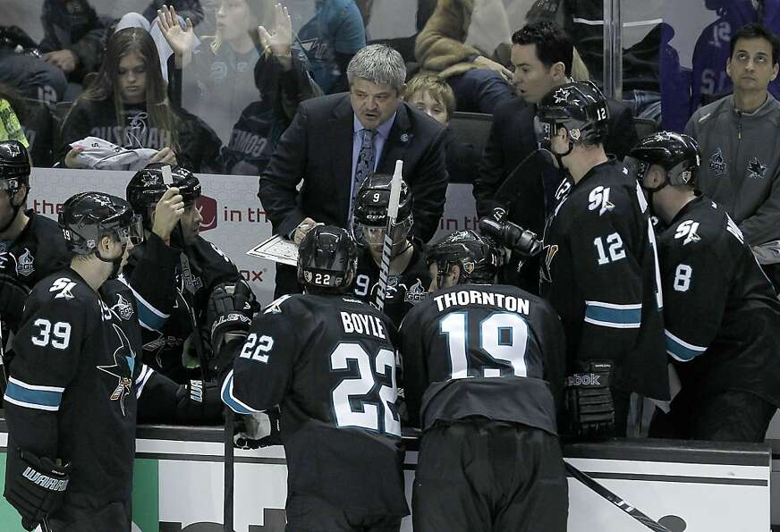 Head coach Todd McLellan and the Sharks know that with a roster that includes aging mainstays Dan