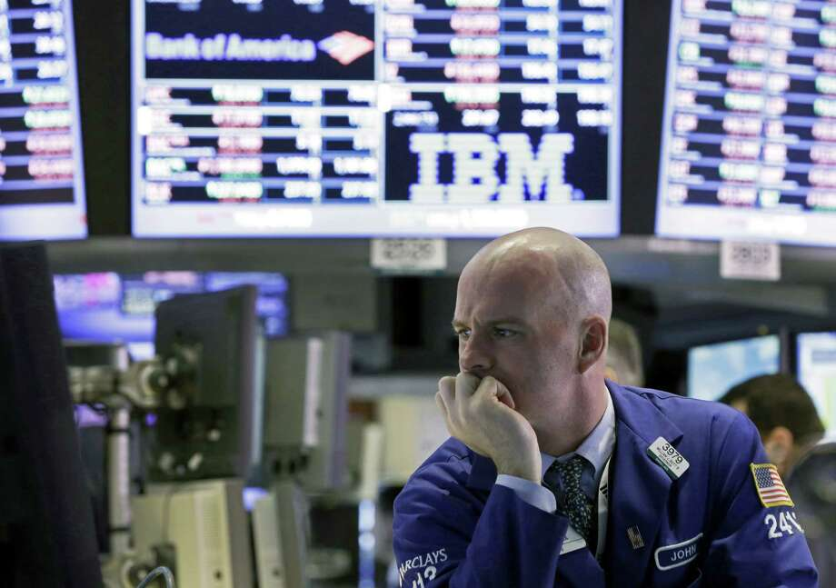 Stocks began to drop after a poll predicted that elections in Italy could result in a stalemate in the nation's legislature, raising the prospect of a renewal of Europe's debt crisis. The Dow Jones industrial average fell 216.40 points, its biggest drop since Nov. 7. Photo: Richard Drew / Associated Press