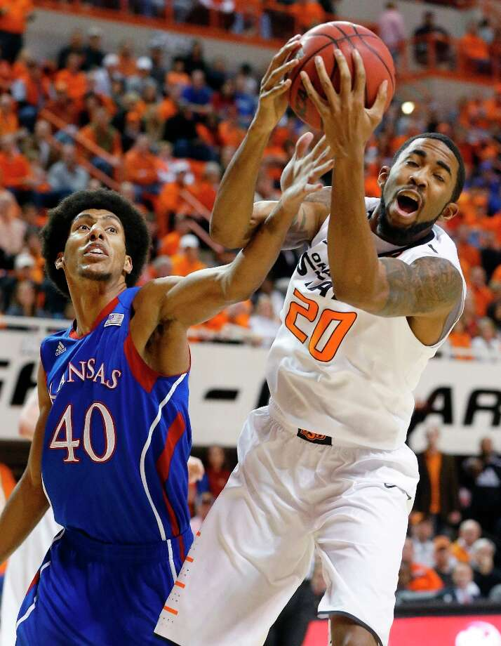 Who's hot:  Oklahoma State F Michael Cobbins, has hit more than 50 percent from the field in each of his last nine games. Cobbins is hitting 58.5 percent from the field during that span and also averaging 11.5 rebounds in his last two games. Photo: Sue Ogrocki, Associated Press / AP