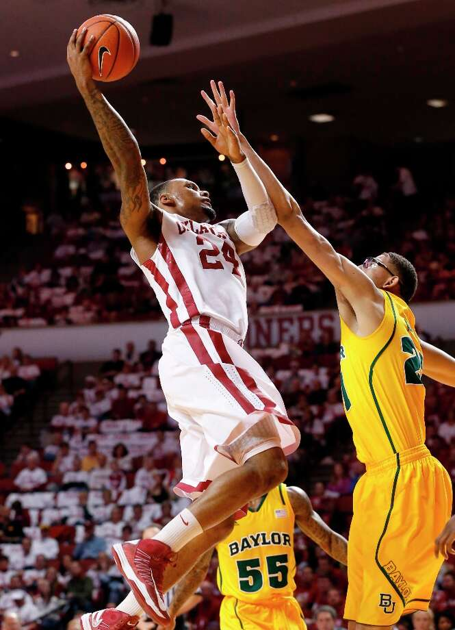 Who's hot:  Oklahoma F Romero Osby notched 17 points and eight rebounds in the Sooners' victory over Baylor. In his last five games, Osby is averaging 16.8 points, 9.4 rebounds and hitting 58.8 percent from the field. Photo: Sue Ogrocki, Associated Press / AP