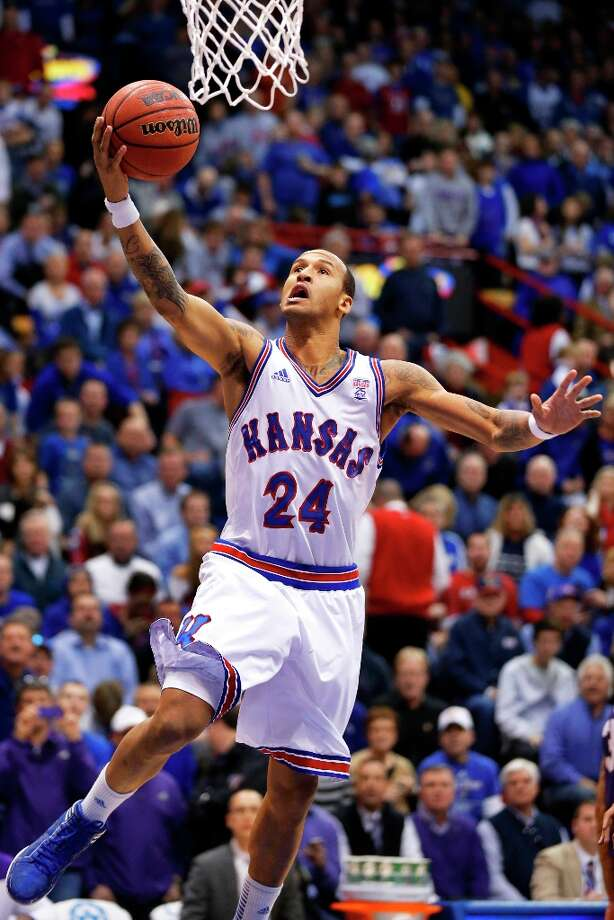 Who's hot:  Kansas F Travis Releford has hit for 66.7 percent from the field, 50 percent of his 3-pointers and average 13.8 points per game over his last four games. Photo: Orlin Wagner, Associated Press / AP