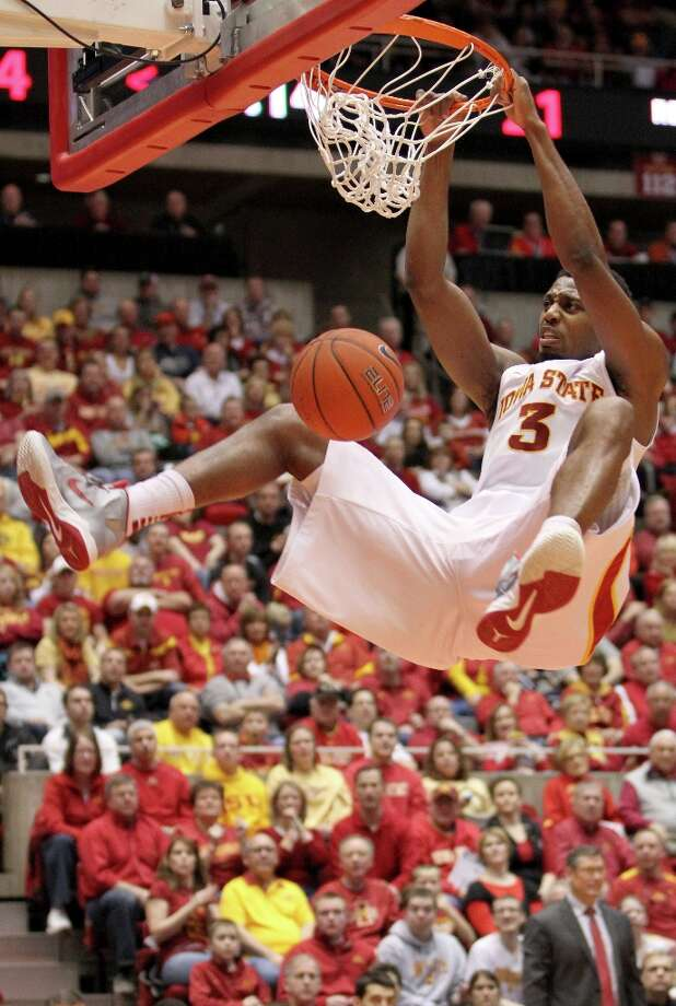 Who's hot:  Iowa State F Melvin Ejim, who notched his fourth double-double in his last five games after going for 13 points and 13 rebounds in the Cyclones' victory over Texas Tech. Ejim is averaging 15 points, 11.2 rebounds and shooting 54.7 percent during that period. Photo: Justin Hayworth, Associated Press / FR170760 AP