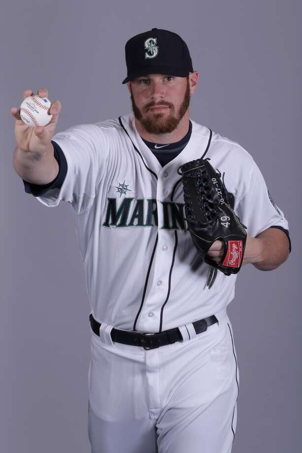 Blake Beavan| 49 | right-handed pitcher (40-man roster)Age: 24 | Birthplace: Irving, TexasFun fact: Did lots of bike-riding with his cyclist wife, Allison, to lose some weight in the offseason before 2012.