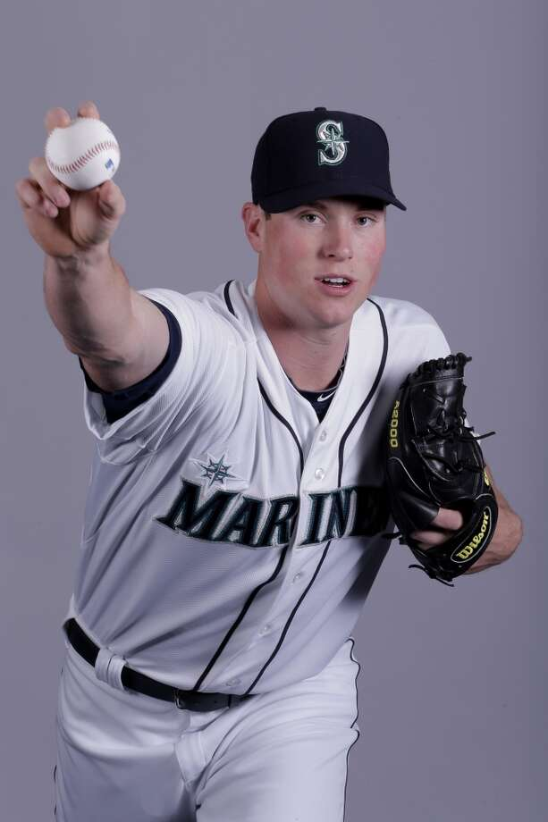 Carter Capps | 58 | right-handed pitcher (40-man roster)Age: 22 | Birthplace: Kinston, N.C.Fun fact: His 99 MPH fastball pushed him through the M's farm system quickly, and he made his MLB debut less than a year after his first minor-league start.