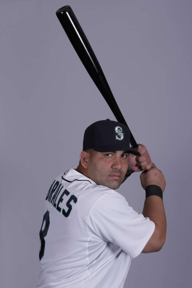 Kendrys Morales | 8 | first baseman/designated hitter (40-man roster)Age: 29 | Birthplace: Fomento, Sancti-Spiritus, CubaFun fact: When he was with the Angels, he broke his left leg when he stomped on home plate while celebrating the grand slam he hit off then-Mariners pitcher Brandon League in 2010.