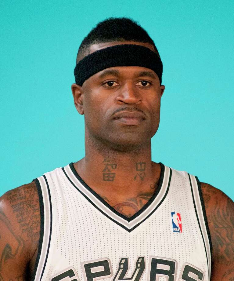 The Spurs' Stephen Jackson poses for a photo during media day, Monday, Oct. 1, 2012, in San Antonio. Photo: Darren Abate, Associated Press / FR115 AP