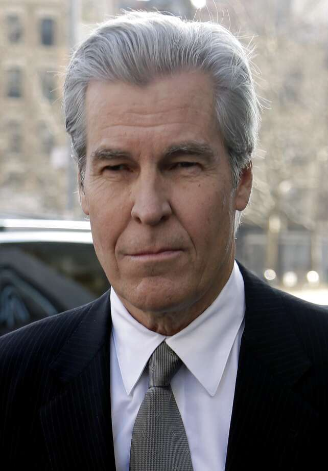 Macy's Chairman, President and CEO Terry Lundgren arrives to court in New York, Monday, Feb. 25, 2013. Lundgren is scheduled to testify in New York State Supreme Court on Monday in a trial that pits the department store chain against rival J.C. Penney Co. over a partnership with home diva Martha Stewart. (AP Photo/Seth Wenig) Photo: Seth Wenig