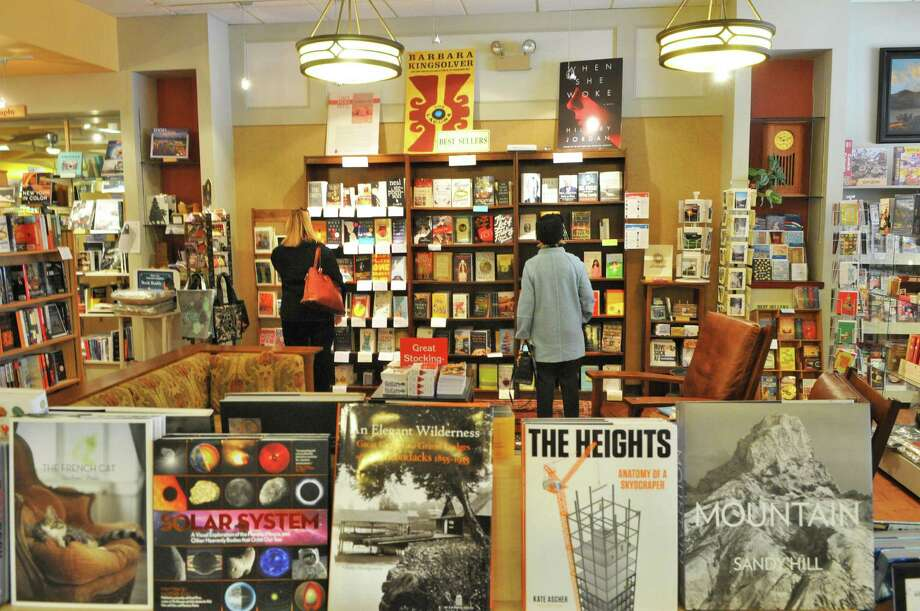 Shoppers inside The Book House at Stuyvesant Plaza in Albany Tuesday Nov. 22, 2011, in Guilderland N.Y.   (John Carl D'Annibale / Times Union archive) Photo: John Carl D'Annibale / 00015512A