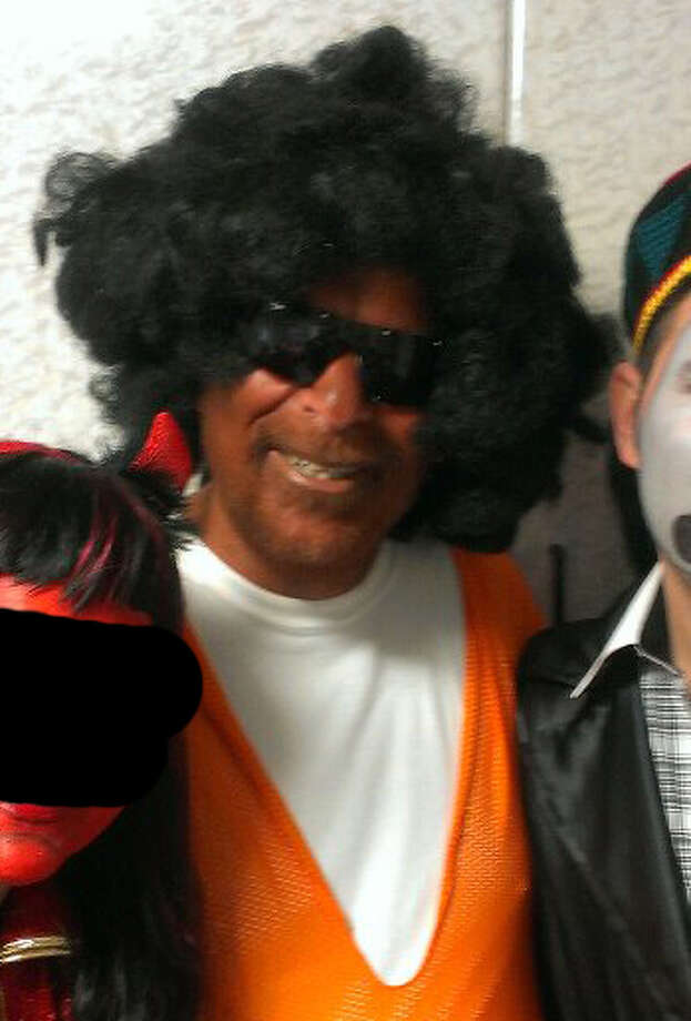 "Assemblyman Dov Hikind, center, reportedly wore blackface as his Purim party costume. Hikind described his costume as portraying a ""basketball player."" (facebook)"
