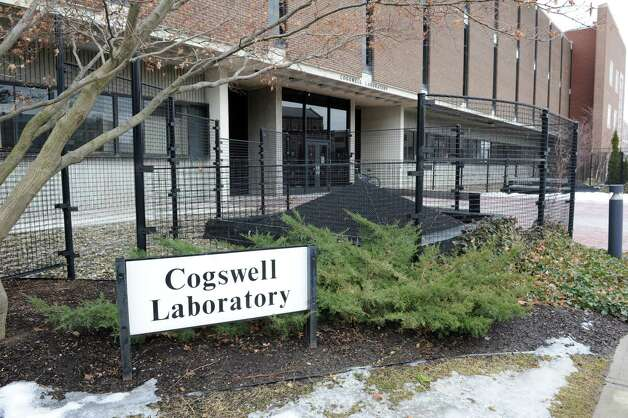 Exterior of the Cogswell Laboratory at RPI college on Monday Feb. 25, 2013 in Troy, N.Y.  (Lori Van Buren / Times Union) Photo: Lori Van Buren