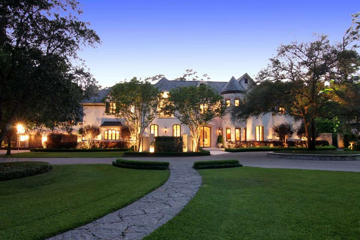405 Timberwilde List price: $12,000,000 Sales price range: $9 million-$12 million Neighborhood/Market area: Hunters Creek/Memorial Villages Space: 16,414 square feet with five bedrooms and seven full bathrooms Year built: 1994 Listing agent: Patricia Reed, John Daugherty, Realtors Selling agent: Laura Sweeney, John Daugherty, Realtors