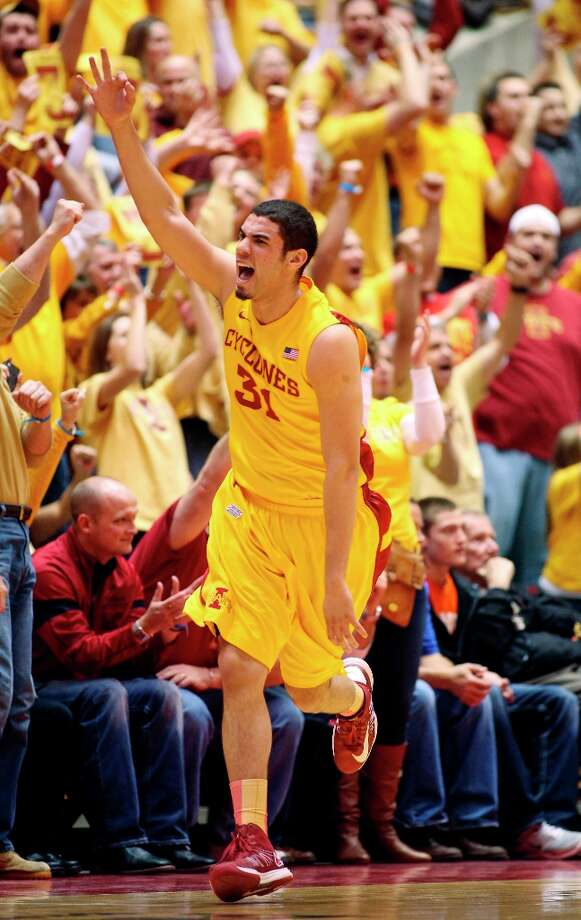 4. Iowa State (19-8, 9-5):Don't be surprised if the Cyclones can pull an upset Monday night against Jayhawks. They should have won the first game in Lawrence. Photo: Justin Hayworth, Associated Press / FR170760 AP