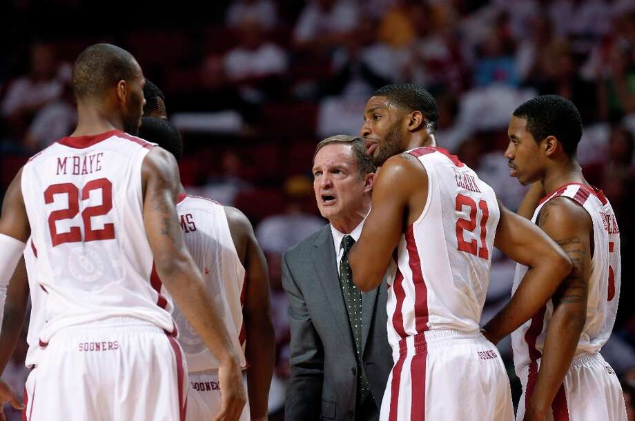 5. Oklahoma (18-8, 9-5): Lon Kruger is oh-so-close to becoming the first coach in NCAA history to take five different schools to the NCAA Tournament. Photo: Sue Ogrocki, Associated Press / AP
