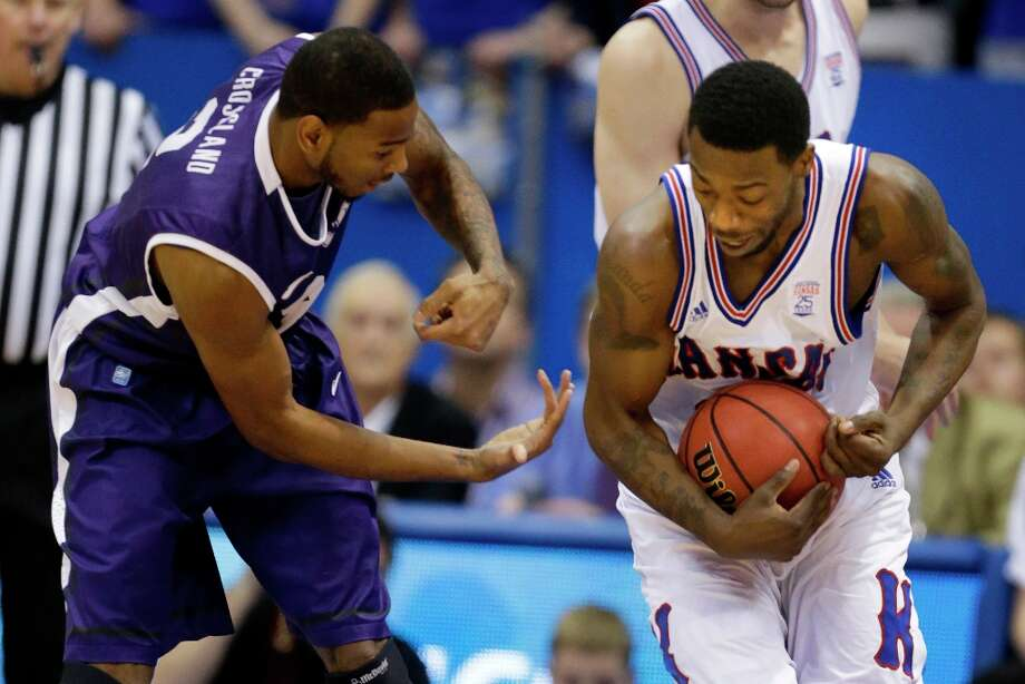 10. TCU (10-17, 1-13): KU exacted its defensive revenge from the earlier loss by limiting impotent Horned Frogs' offense to Big 12 record low of nine points in first half. Photo: Orlin Wagner, Associated Press / AP