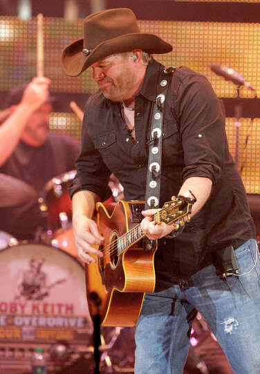 Toby Keith Performs During The Houston Livestock Show And