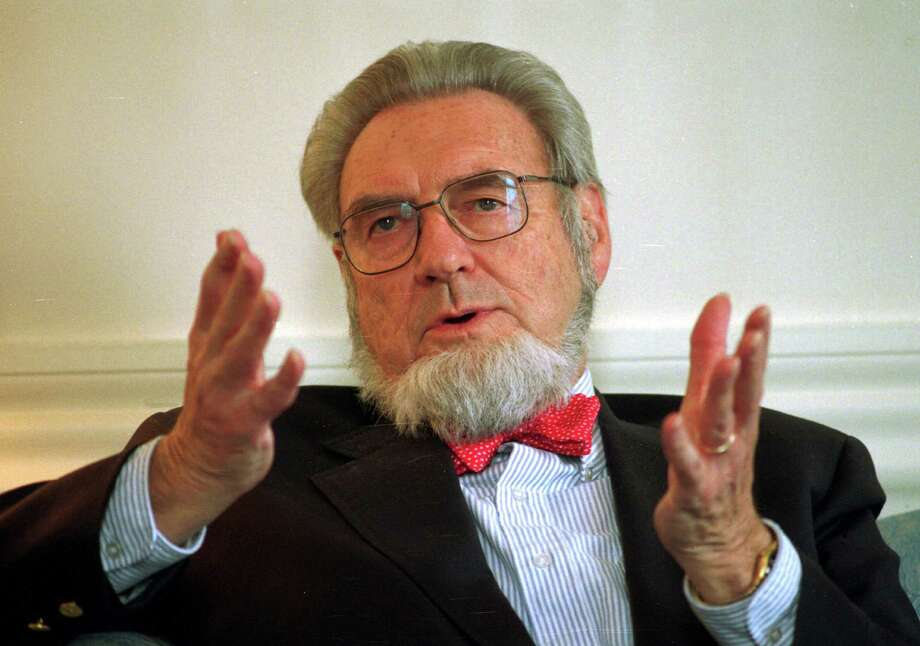 FILE - In this May 12, 1997, file photo, former Surgeon General Dr. C. Everett Koop discusses the proposed increase of the New Hampshire cigarette tax at the governor's office in the Statehouse in Concord, N.H. Koop, who raised the profile of the surgeon general by riveting America's attention on the then-emerging disease known as AIDS and by railing against smoking, died Monday, Feb. 25, 2013, at age 96. Photo: Andrew Sullivan