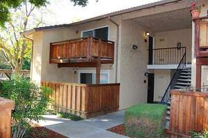 It's still possible to find a home -- at least a modest one -- listed for under $100,000 in the Bay Area. This 2-bedroom condo at 534 Arcadia Drive, Vacaville, is listed at $99,000.
