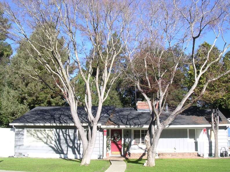 Listing price for one of the least expensive houses in Atherton: $1.29 million. At 75 Lloyden Dr, At
