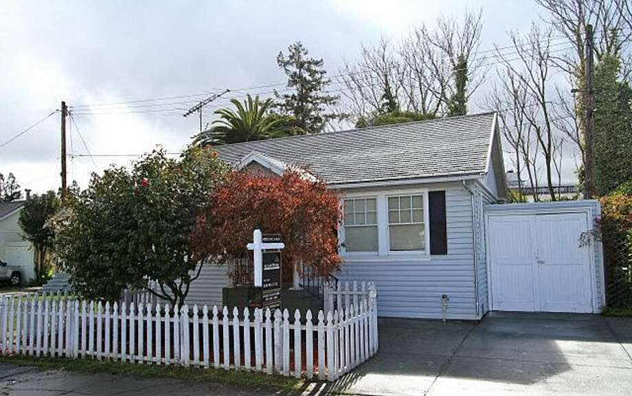 This is one of the least expensive houses currently for sale in Palo Alto, at 736 Homer Ave. With two bedrooms and one bath, the 660-square-foot houses is listed for $859,000.That's $1,301 per square foot.