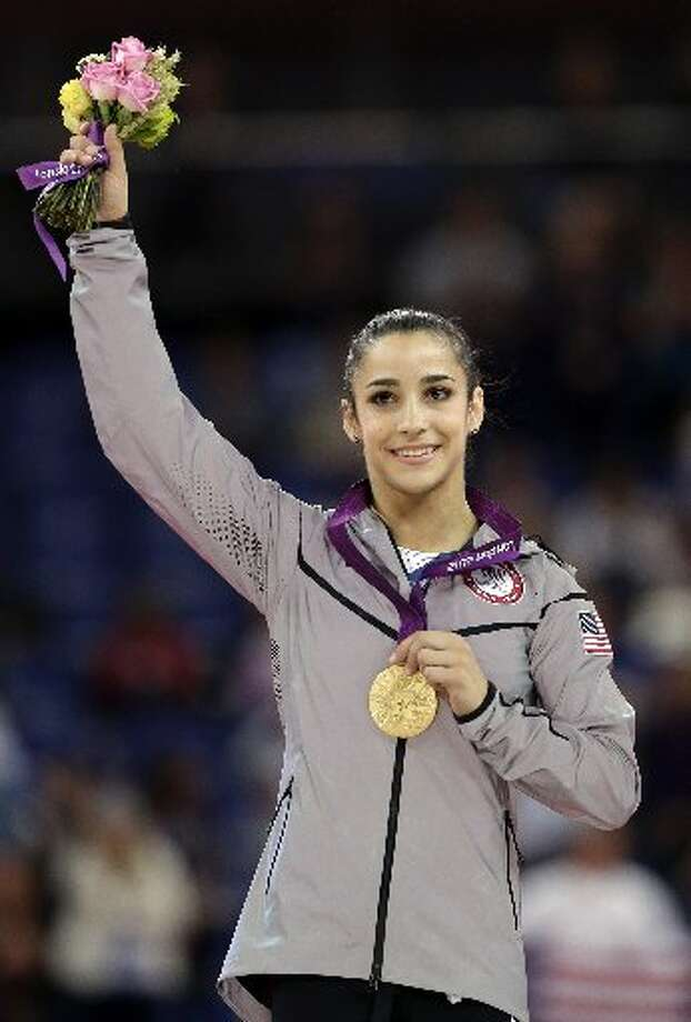 Aly Raisman. Olympic gold medalist.
