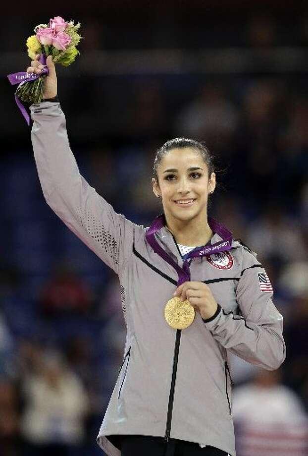 Aly Raisman. Olympic gold medalist.