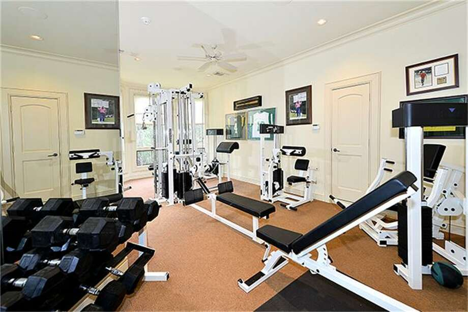 Fully equipped gym stays. Photo: Better Homes And Gardens Real Estate Gary Greene