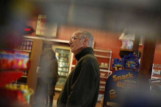 Reuben Thomasson, owner Anderson Valley Market & Deli, stands in his store in Boonville, Calif. Photo: Lea Suzuki, The Chronicle