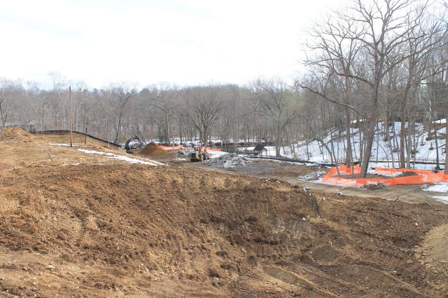 This view is close to where the drop-off spot will be in front of the main entrance to the new Y.