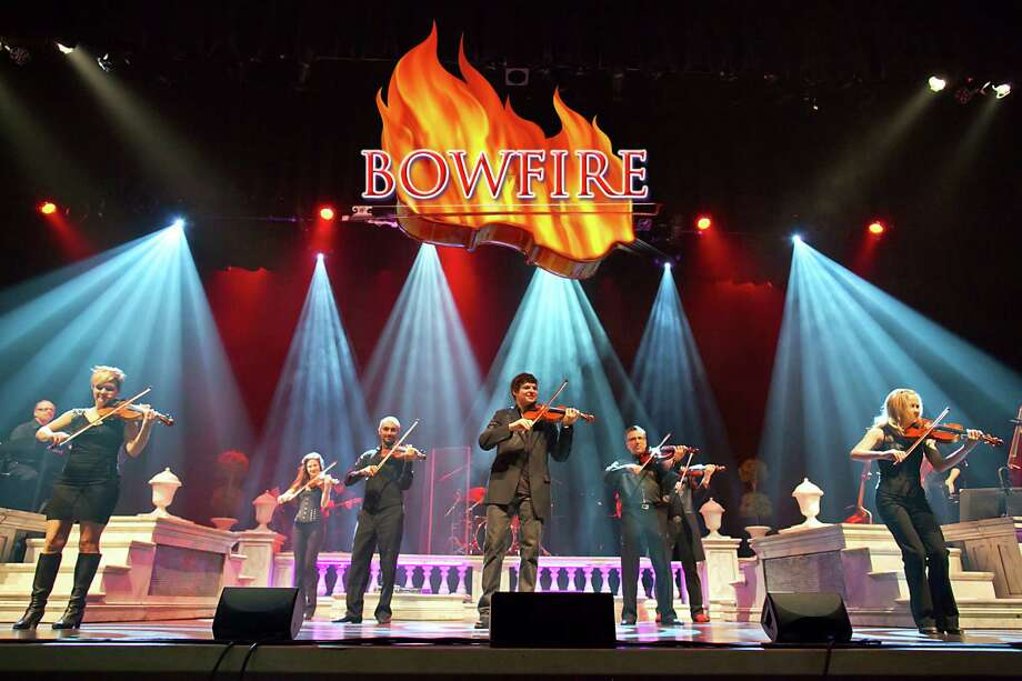 Bowfire will perform at the Ridgefield Playhouse on Sunday, March 3. Photo: Contributed Photo