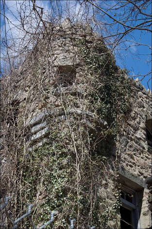 The Hearthstone Castle at Tarrywile Park in Danbury is largely in ruin today. A study group is now writing a plan that may help the city, which purchased the castle in 1985, to decide what to do with the building. Photo: Contributed Photo