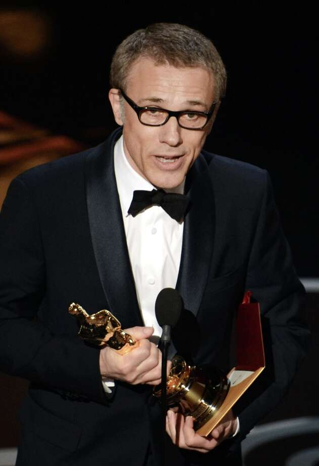 Actor Christoph Waltz accepts the Best Supporting Actor award for Django Unchained onstage during the Oscars held at the Dolby Theatre on February 24, 2013 in Hollywood, California. Photo: Kevin Winter, Getty Images / 2013 Getty Images