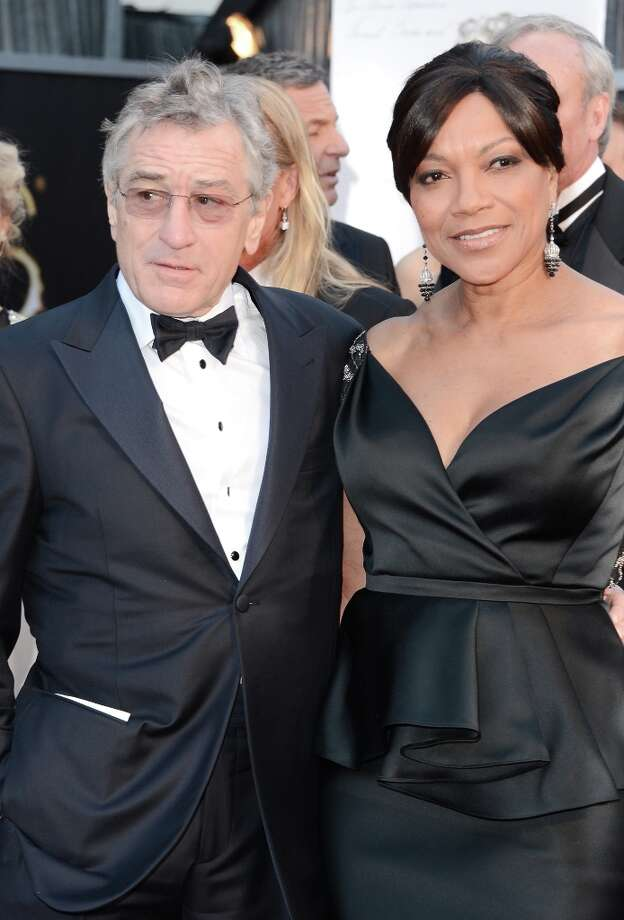 Actor Robert De Niro and wife Grace Hightower arrive at the Oscars at Hollywood & Highland Center on February 24, 2013 in Hollywood, California. Photo: Jason Merritt, Getty Images / 2013 Getty Images