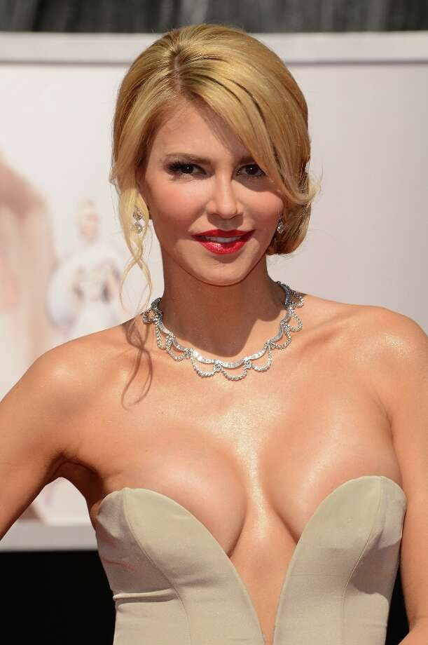 Actress Brandi Glanville attends the Oscars at Hollywood & Highland Center on February 24, 2013 in Hollywood, California. Photo: Jason Merritt, Getty Images / 2013 Getty Images