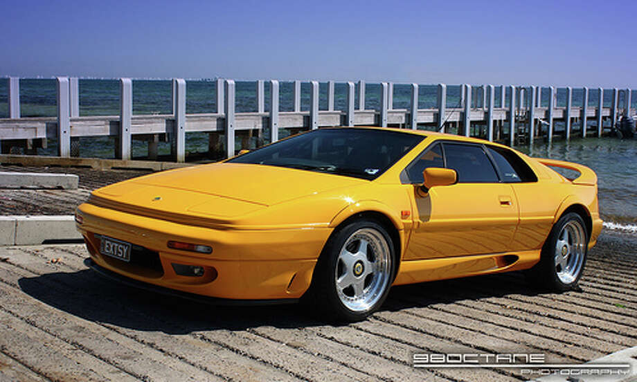 "98. Lotus Esprit (1993–2004)What Popular Mechanics said: Despite going through some awkward ""wedge"" phases in its early days, the Esprit hit its stride with the early '90s S4 variant. By the twin-turbo V-8 generation, it had evolved into a legitimate exotic. (Photo: 98Octane, Flickr)Source: Popular Mechanics Photo: Flickr"