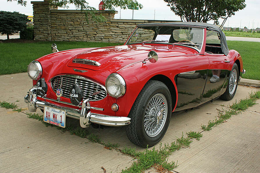 78. Austin-Healey 3000 (1959–1967)