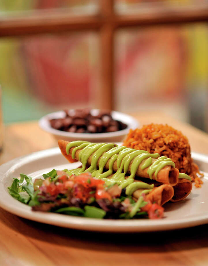 Green Vegetarian Cuisineclosed its restaurant at 1017 N. Flores St. and reopened at the Pearl in Suite 120 in the Full Goods building. Green continues to be popular at Pearl.PHOTO: Green's Flauta Plate with homemade Spanish rice. Photo: ROBIN JERSTAD, SPECIAL TO THE EXPRESS-NEWS / SAN ANTONIO EXPRESS-NEWS