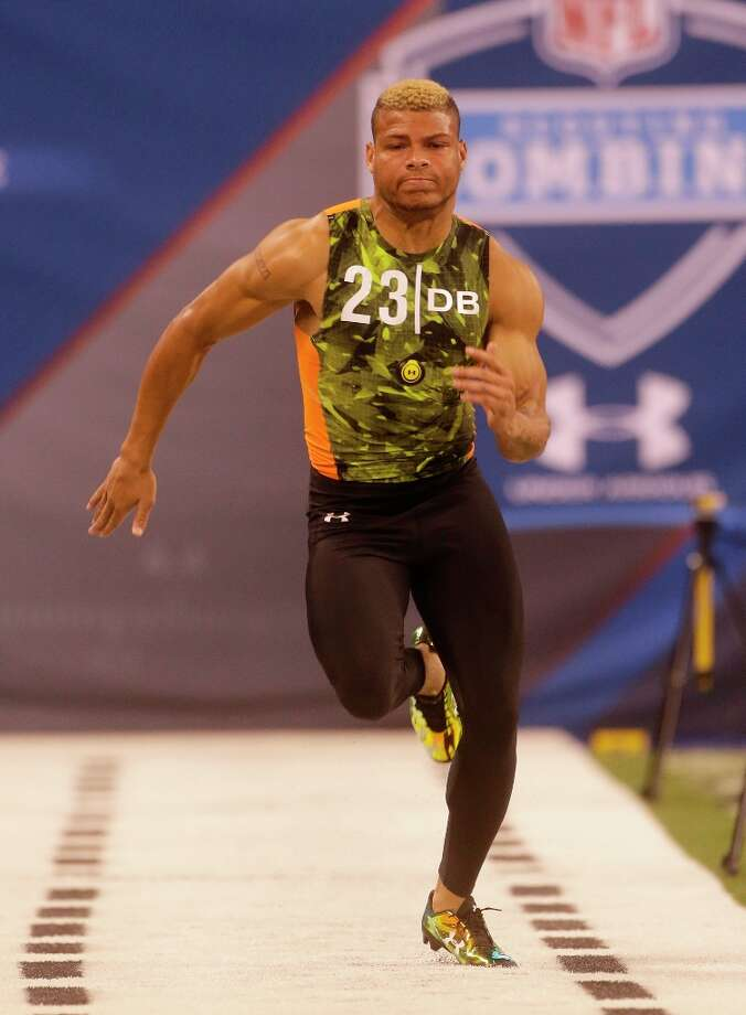 Tyrann Mathieu ran a 4.43 40-yard dash. Photo: Dave Martin