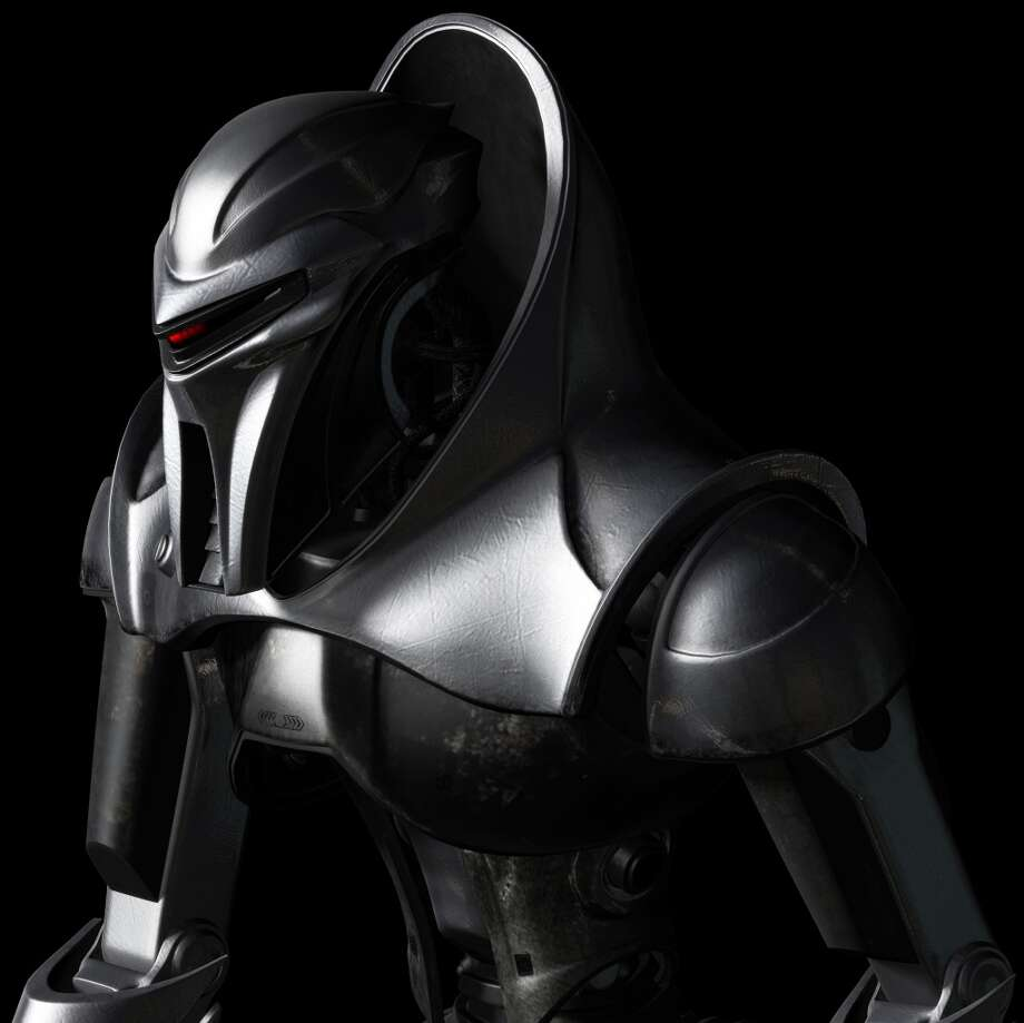 Battlestar Galactica'' Cylon in 2003.