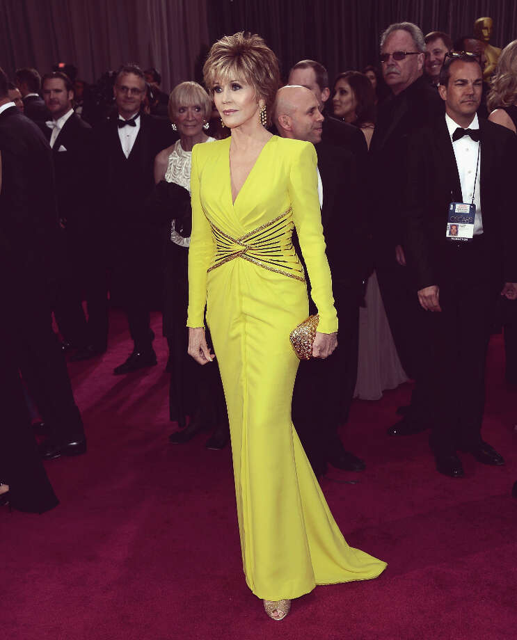 Jane Fonda in Versace Photo: Michael Buckner, Getty Images / 2013 Getty Images