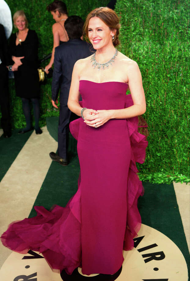 Jennifer Garner in Gucci Photo: ADRIAN SANCHEZ-GONZALEZ, AFP/Getty Images / AFP