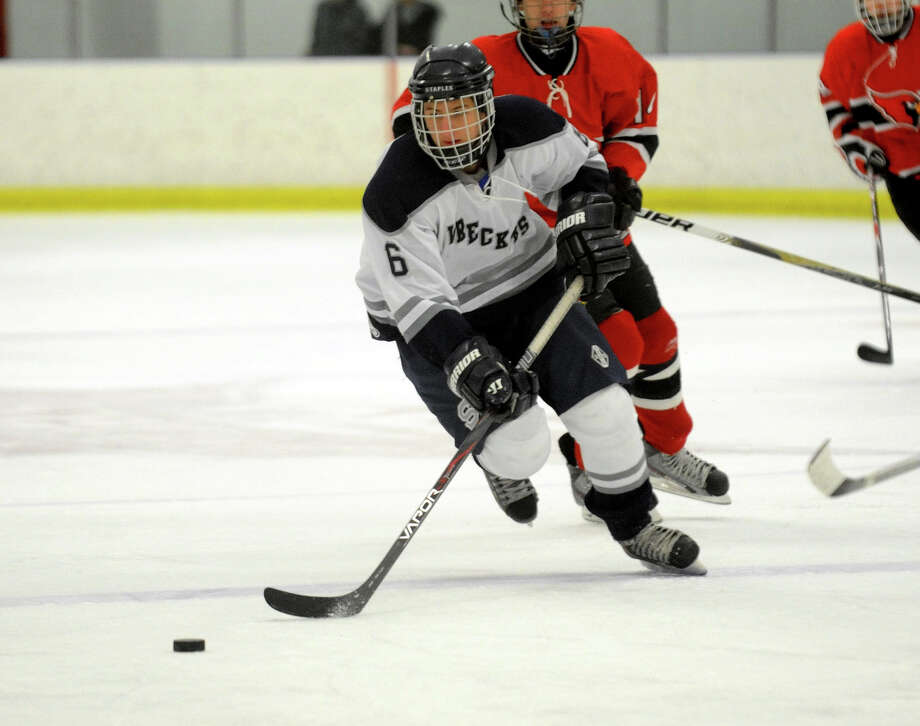 Highlights from boys hockey action between Staples and Greenwich in Milford, Conn. on Wednesday February 22, 2012. Photo: Christian Abraham / Connecticut Post