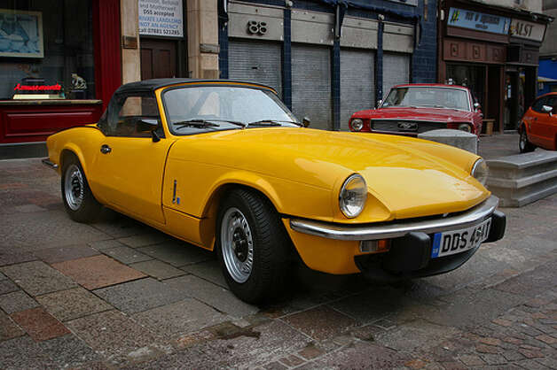 72. Triumph Spitfire (1962–1980) 
