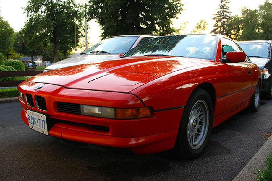 69. BMW 8 Series (1989–1999) What Popular Mechanics said: BMW's big coupe of the '90s may not be exotic, but it was a perfect vehicle for its time, with impeccable design inside and out. (Photo: Shane's Stuff, Flickr)Source: Popular Mechanics Photo: Flickr