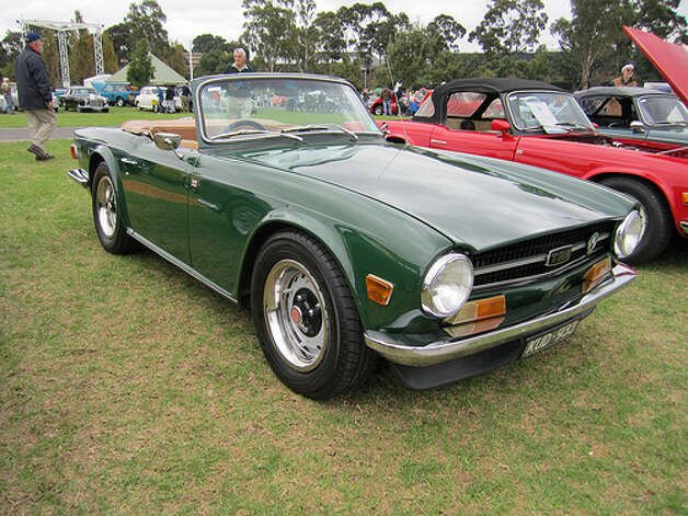 64. Triumph TR6 (1969–1976)