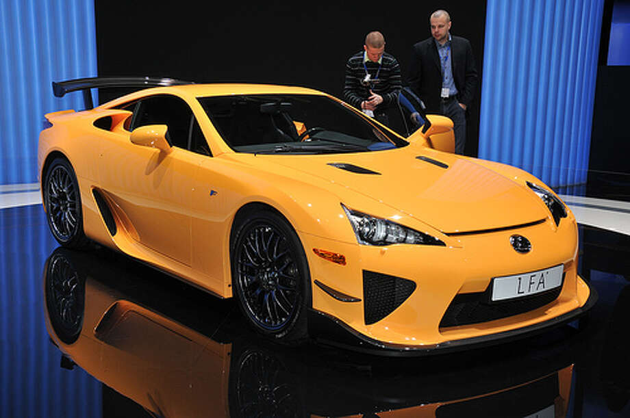 63. Lexus LFA (2010–Present)What Popular Mechanics said: With a screaming V-10 engine and oodles of carbon fiber, the LFA is a seriously desirable supercar, and its Nurburgring variant holds one of the fastest production car lap times at the famous German track. (Photo: Autoviva.com, Flickr) Photo: Flickr
