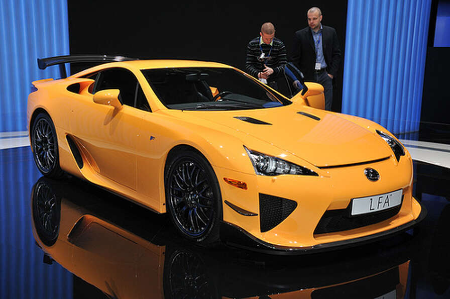 63. Lexus LFA (2010–Present)