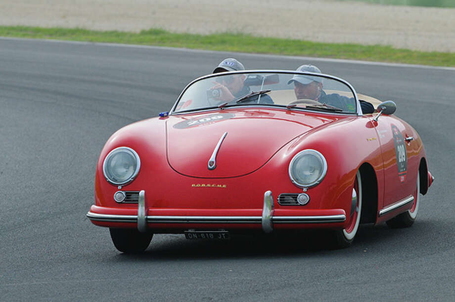 56. Porsche 356 (1954–1965) What Popular Mechanics said: It may seem like the Porsche 911 has been around since the dawn of time, but actually, the 356 preceded it as the iconic German sports car. (Photo: Osmosis.it, Flickr)Source: Popular Mechanics Photo: Flickr / Copyright © Daniele Rongione