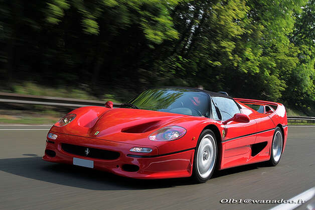 54. Ferrari F50 (1995–1997) 
