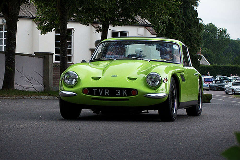 53. TVR Tuscan (1967–1971) What Popular Mechanics said: A classic from small-volume manufacturer TVR, the original Tuscan was a rare sight, even on British roads. Both the V-6 and V-8 engines available under the hood were sourced from Ford. (Photo: Furlined, Flickr) Photo: Flickr